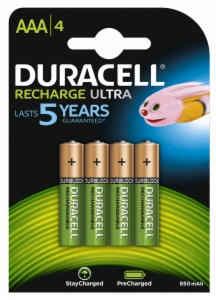 PILAS DURACELL PRECHARGED AAA B4