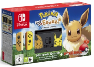 CONSOLA NINTENDO SWITCH POKÉMON LETSE