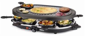 RACLETTES PRINCESS 162700 FAMILY8 1200W