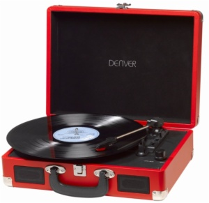 GIRADISCOS DENVER VPL-120 RED