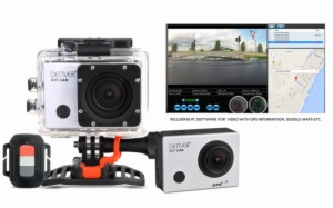 CAMARA VIDEO DIGITAL DENVER ACG-8050W GPS