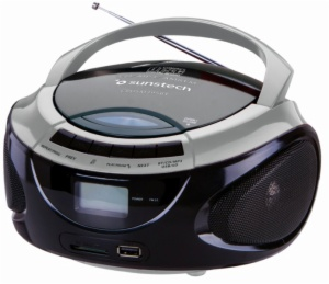 RADIO CD SUNSTECH CRUSM395BTSL